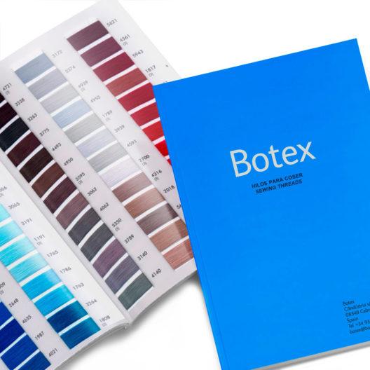 carta de colores botex